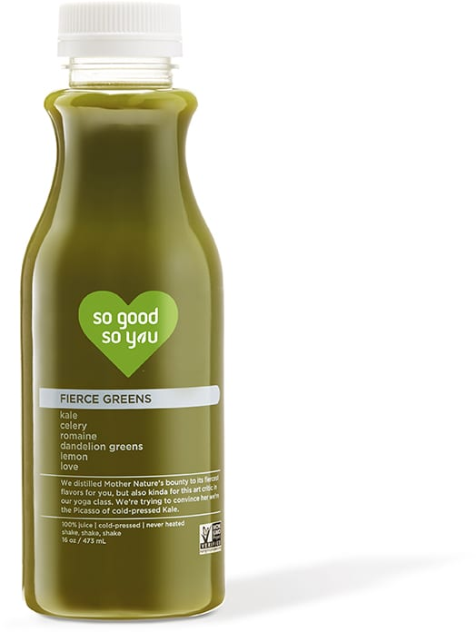 SoGoodSoYou - Juice - Fierce Greens